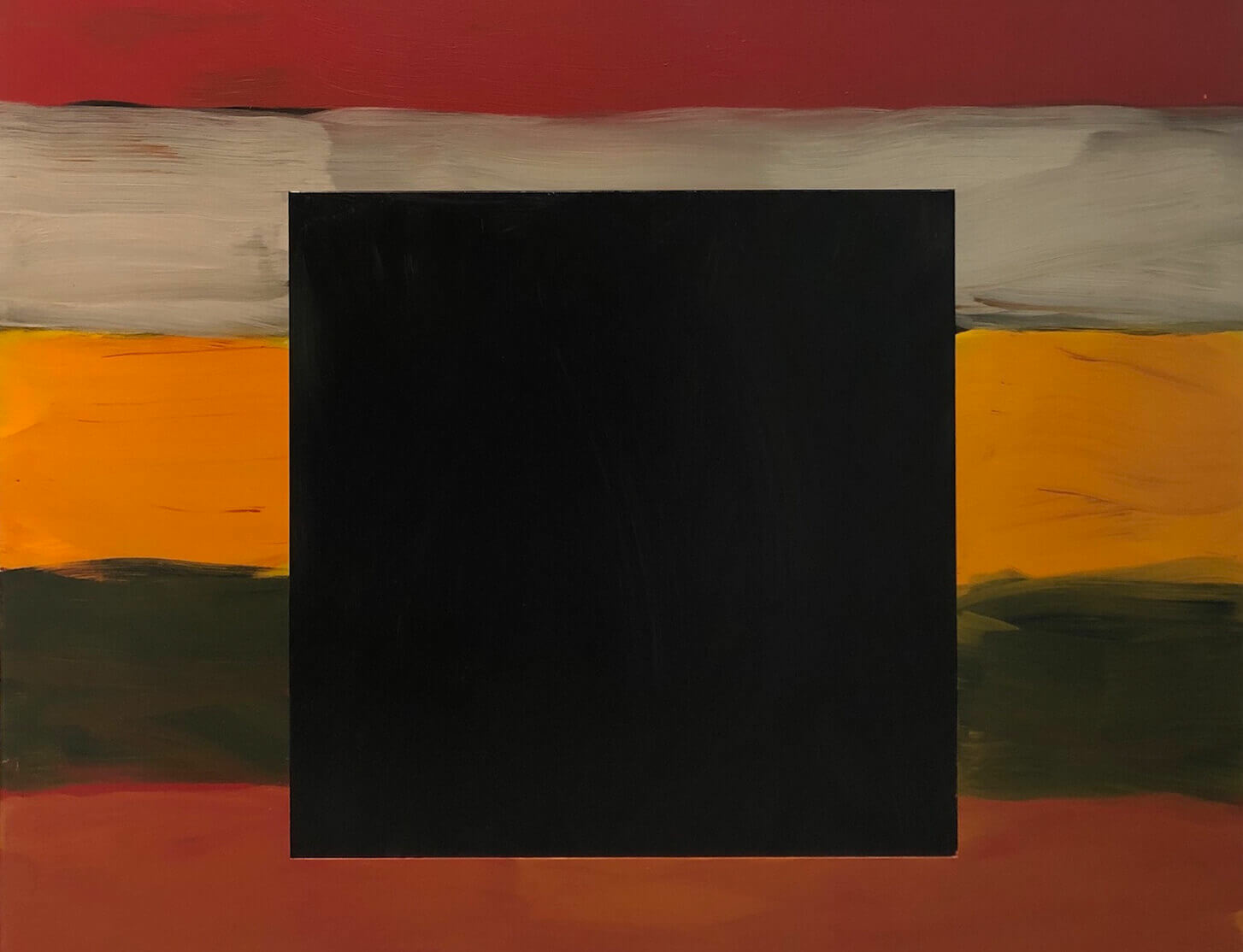 Sean Scully's 'Black Square' by David Carrier - Hyperallergic