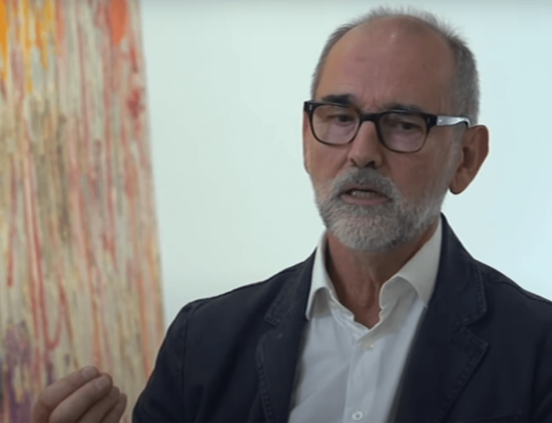 Christopher Le Brun interviewed for 'Icon' on CGTN