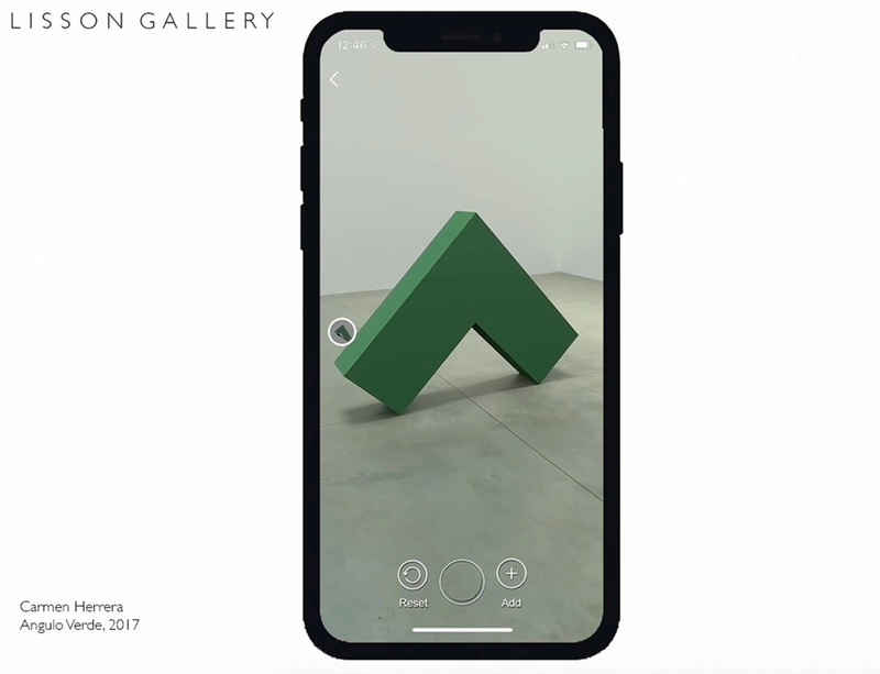 Lisson Gallery Augmented Reality platform now live with Instructional Video and Frequently Asked Questions