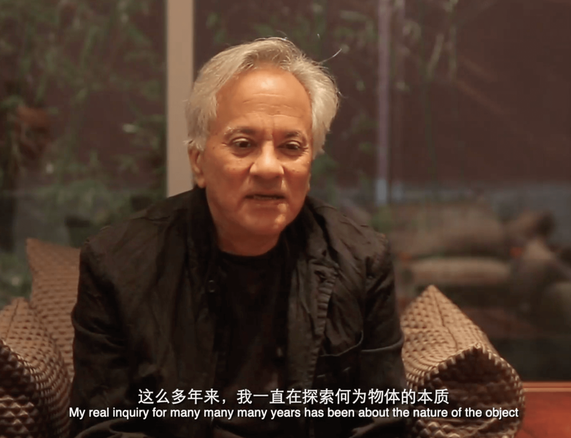 New video of Anish Kapoor's major 2019 exhibition in Beijing
