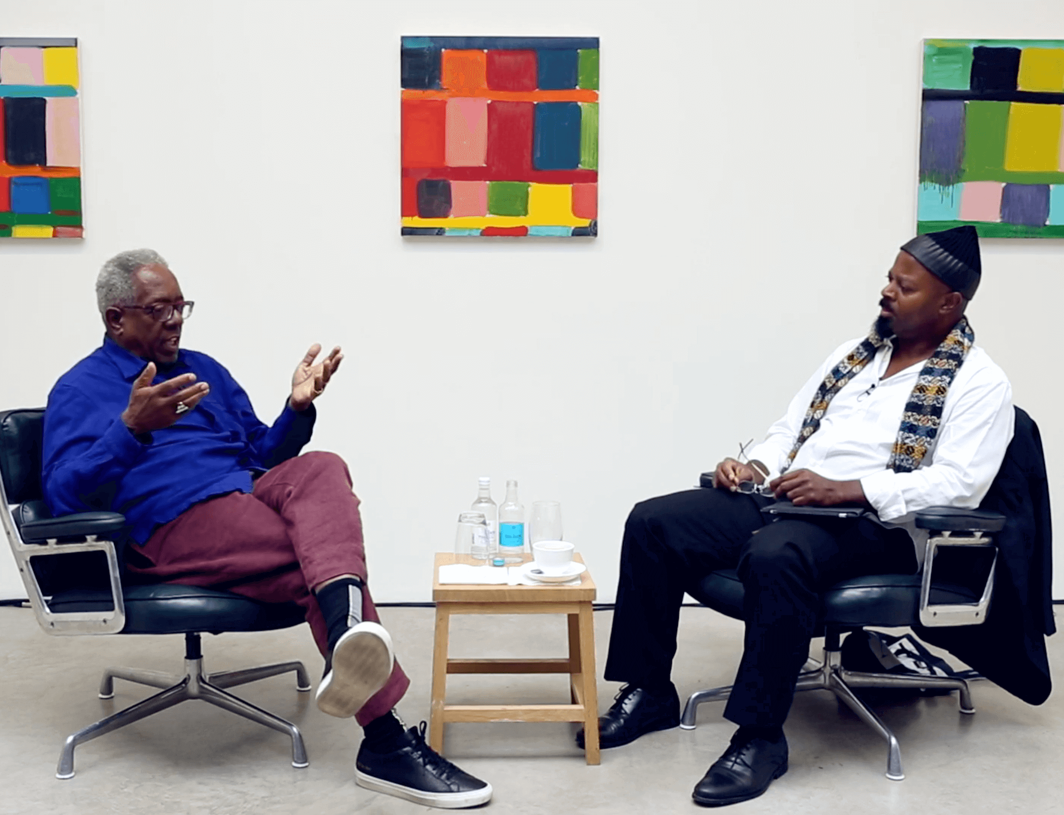 Now screening: Stanley Whitney in conversation with Ben Okri