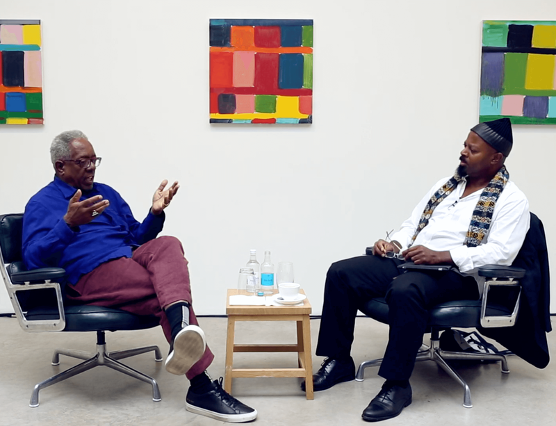 Now screening: Stanley Whitney in conversation with Ben Okri