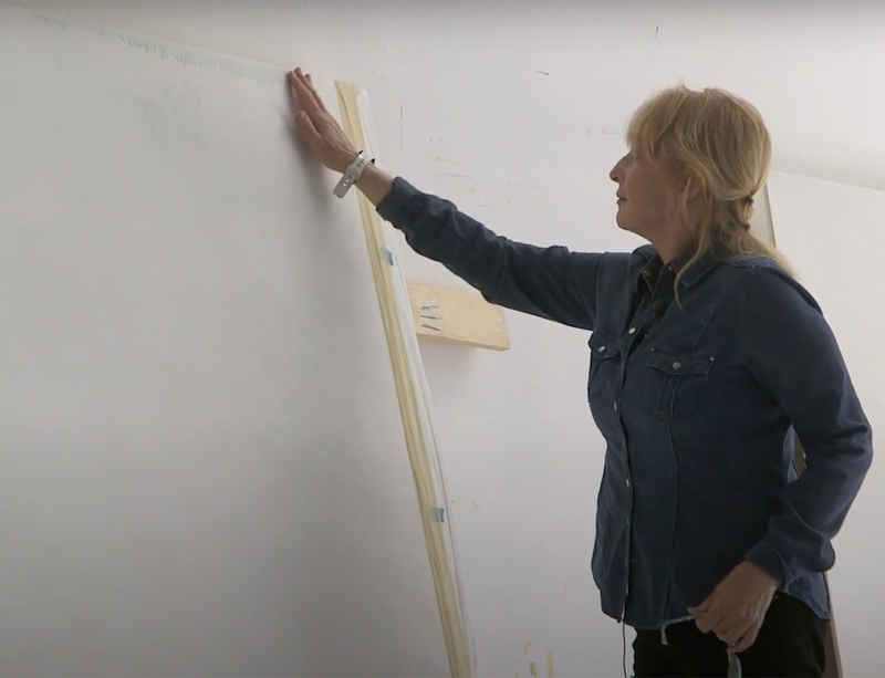 Watch now: The Whitney Museum visits Mary Corse in her studio