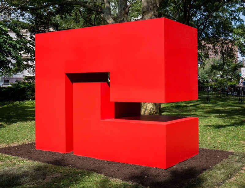 Carmen Herrera's 'Estructuras Monumentales' to open at Buffalo Bayou Park, Houston