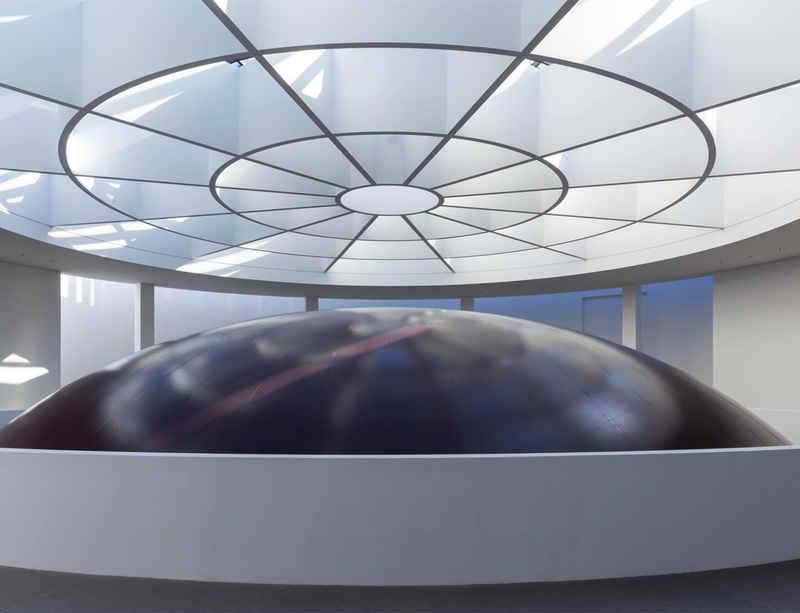 Anish Kapoor at Pinakothek der Moderne, Munich