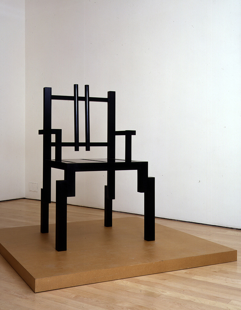 Scott Burton: New Chair Sculptures