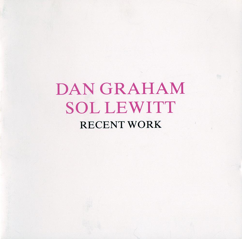 Dan Graham & Sol Lewitt