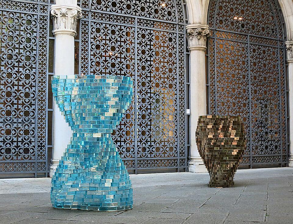 Shirazeh Houshiary: Glasstress