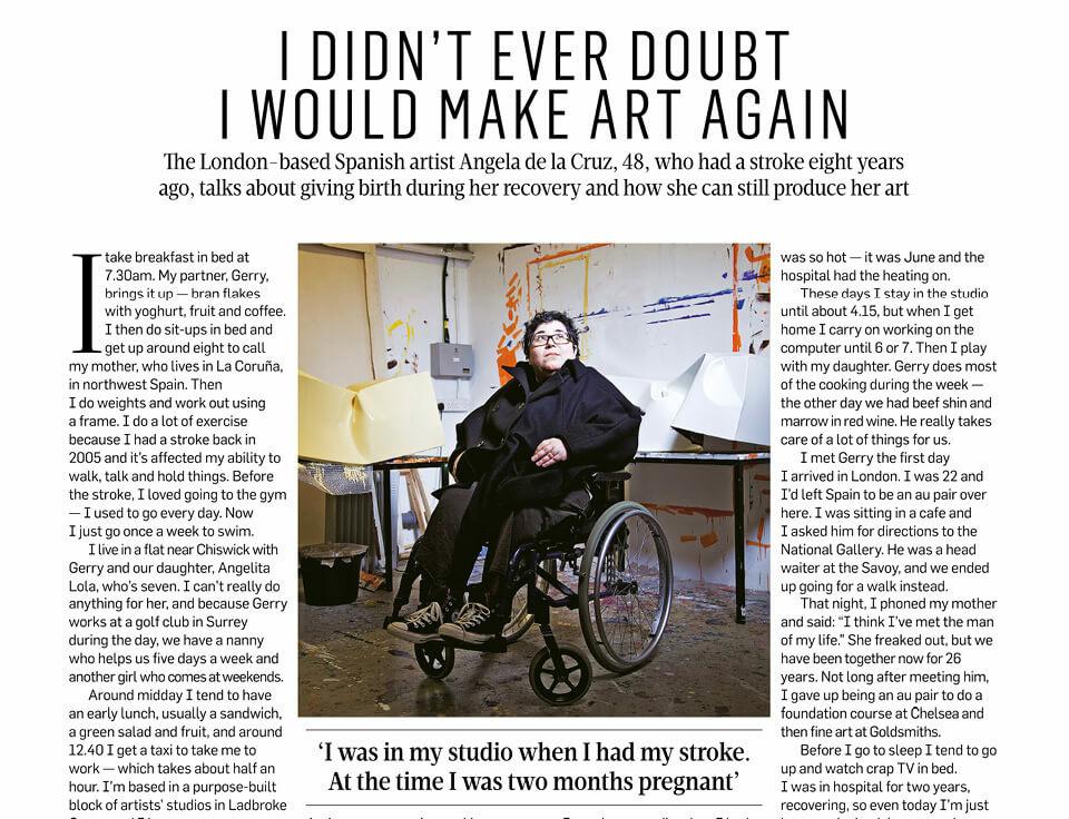 A Life in the Day: Angela de la Cruz