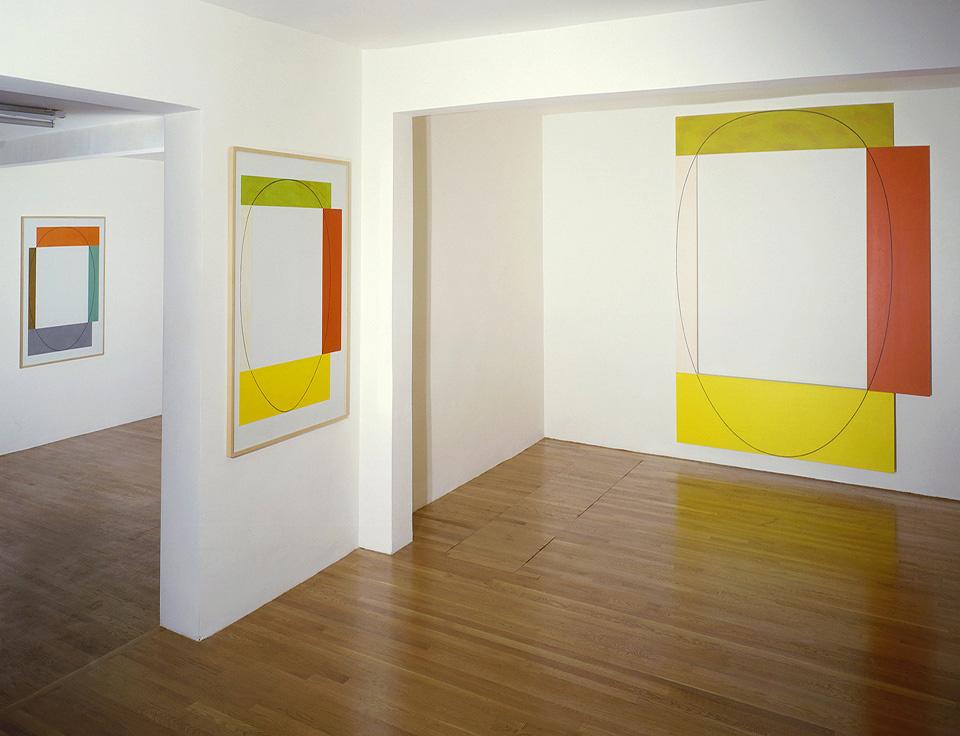 Robert Mangold: Recent Paintings