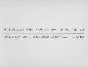 Art & Language