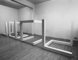 Sol LeWitt: New Works - Structures & Early Working Drawings