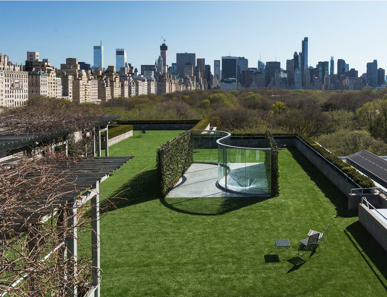 Dan Graham Rooftop Commission
