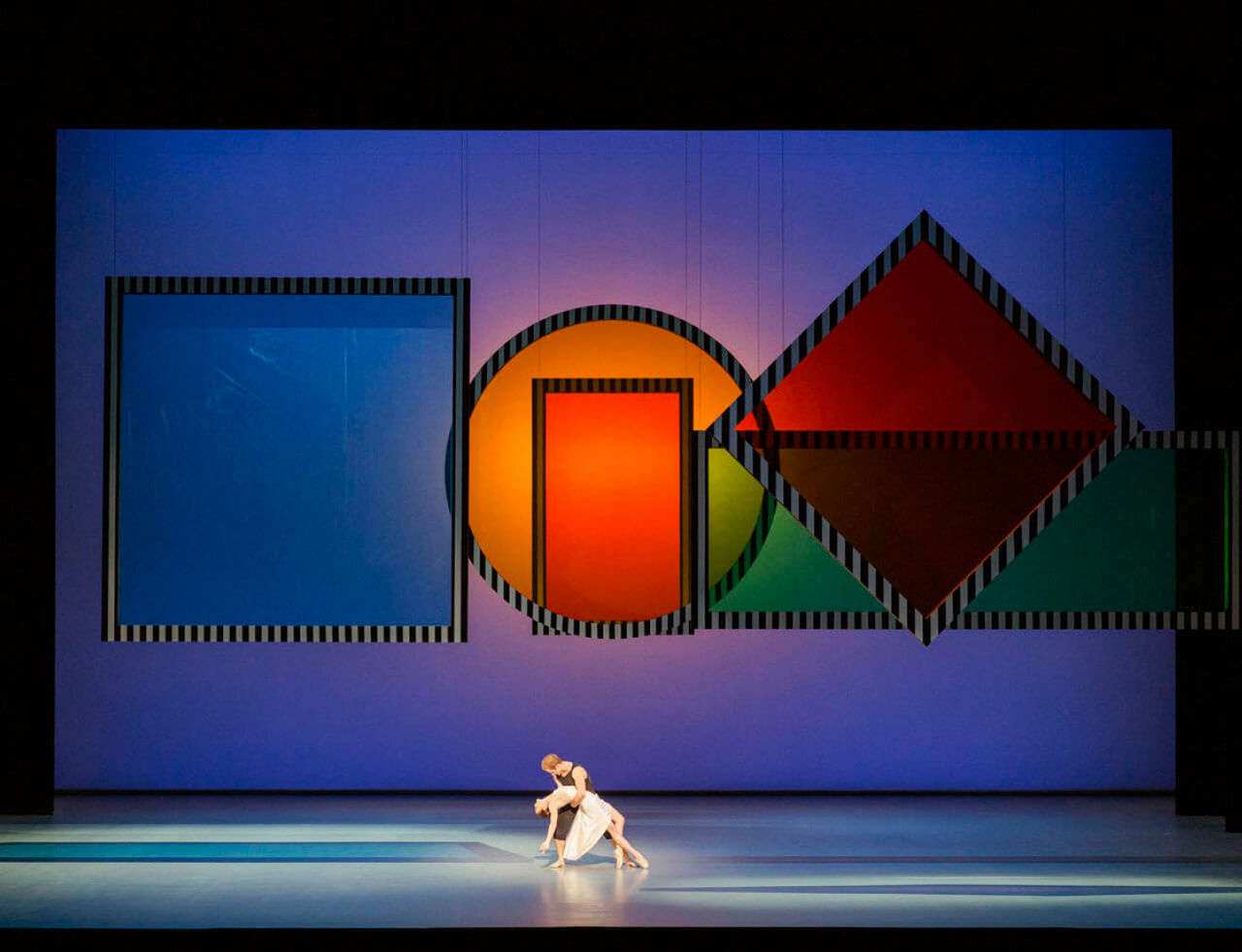 Daniel Buren: Daphnis et Chloe