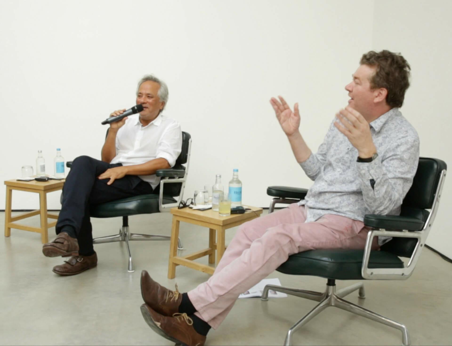 Anish Kapoor and Jonathan Jones