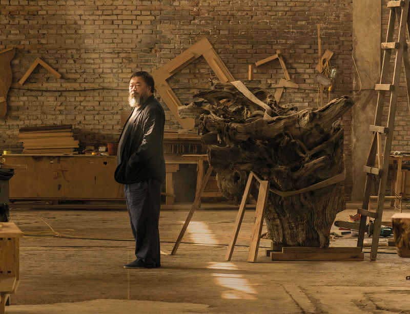 Ai Weiwei at the Royal Academy of Arts
