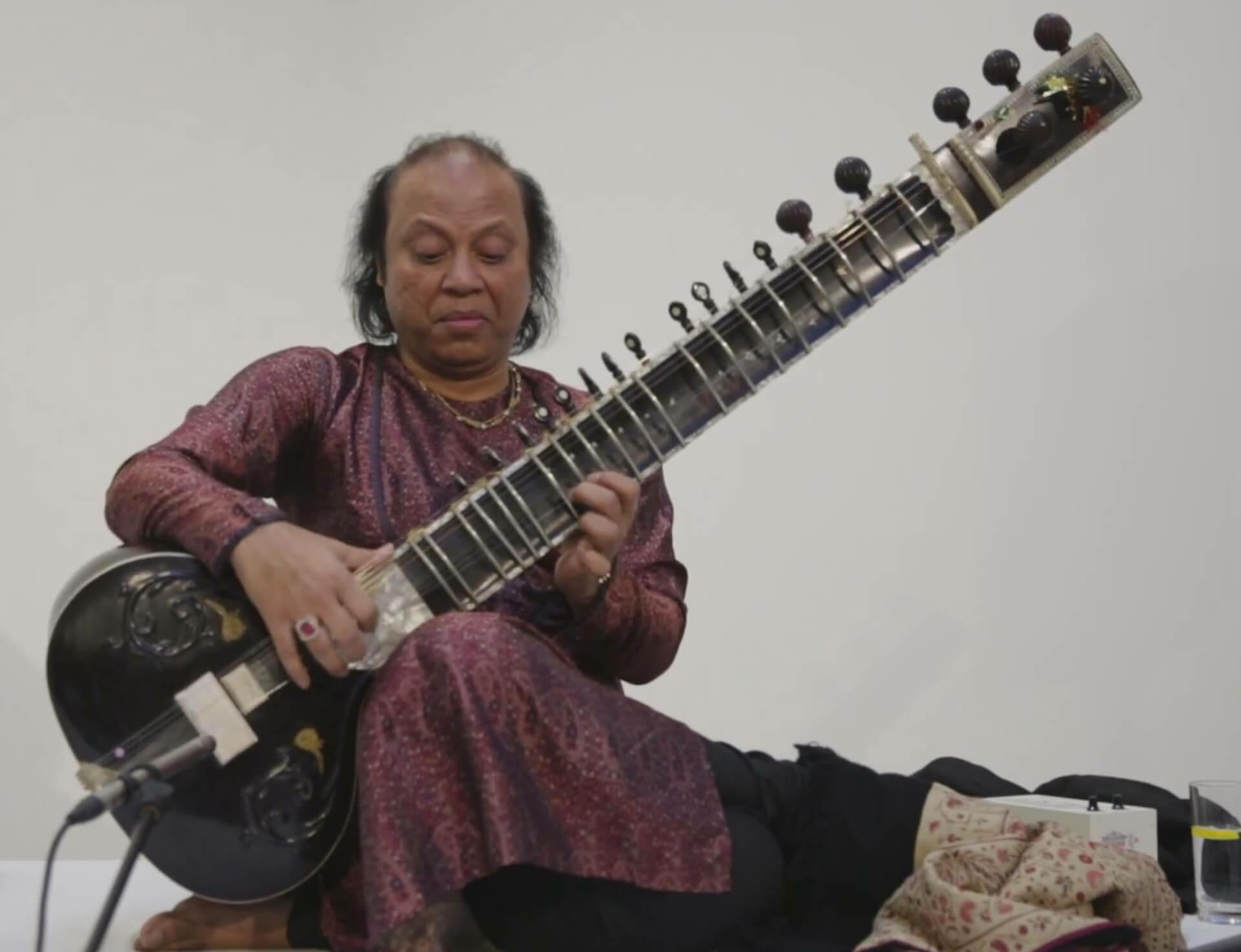 Nishat Khan concert for Anish Kapoor