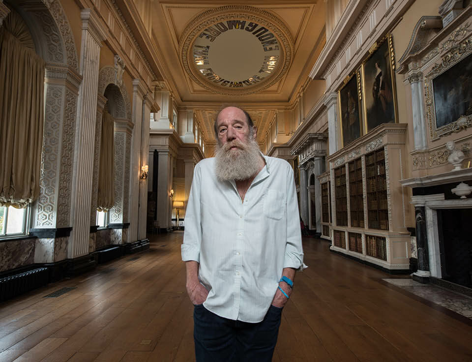 Lawrence Weiner at Blenheim Palace