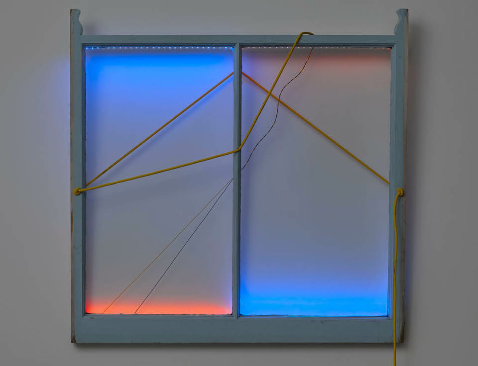 First solo exhibition in Korea by Haroon Mirza