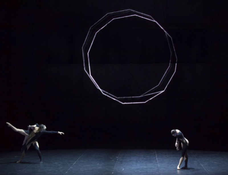 Haroon Mirza and Wayne McGregor collaborate for Paris Opera