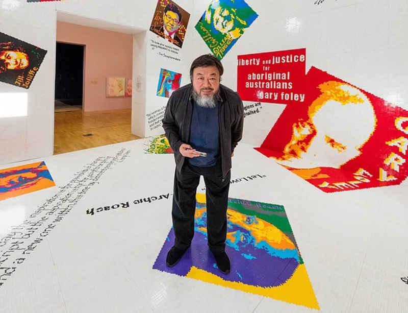 'Andy Warhol   Ai Weiwei'