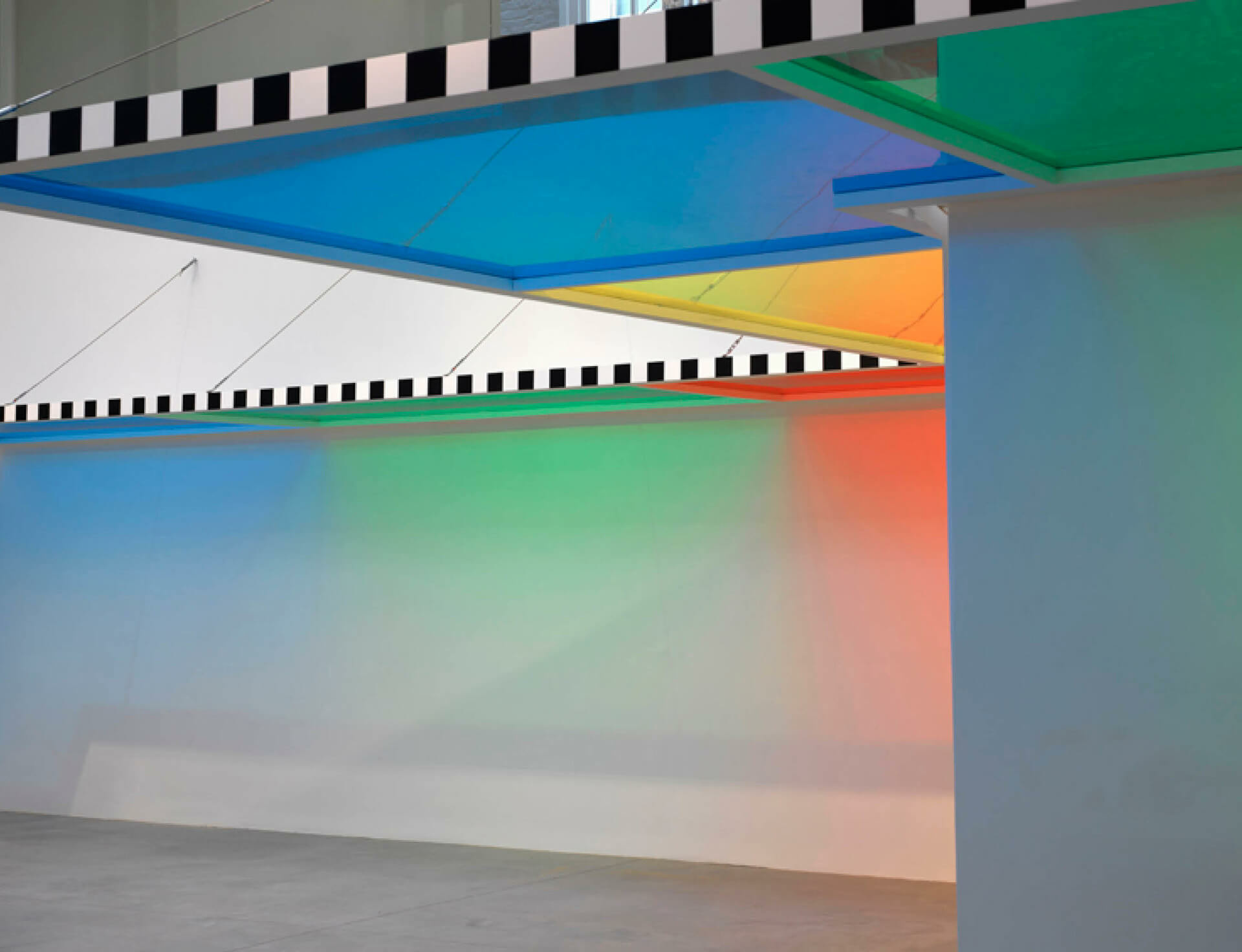 Daniel Buren: 'A Fresco' at BOZAR