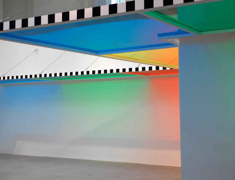 Daniel Buren: 'A Fresco' at BOZAR