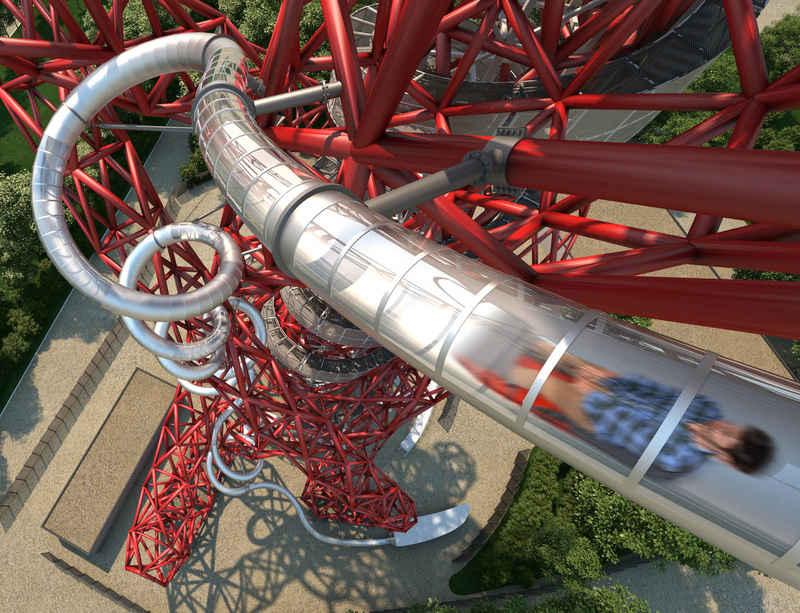 Carsten Höller's Slide at Anish Kapoor's ArcelorMittal Orbit to open 24 June 2016