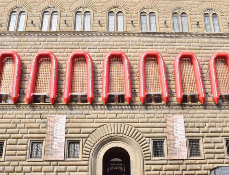 Ai Weiwei's first retrospective in Italy opens at Palazzo Strozzi, Florence