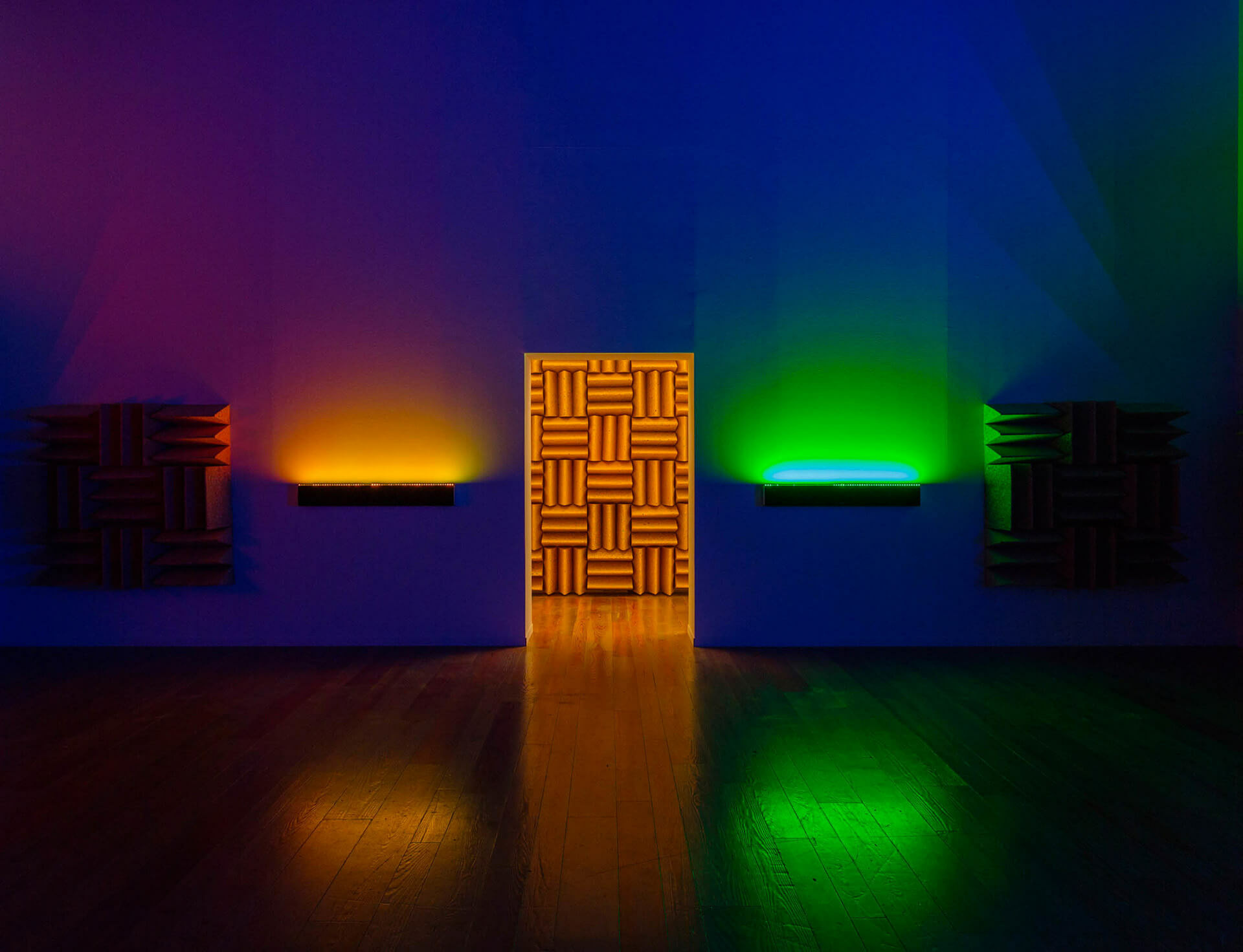 Haroon Mirza at ArtReview Asia Xiàn Chăng, West Bund Art & Design