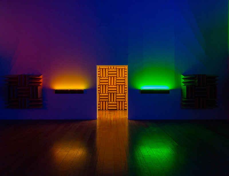 Haroon Mirza at ArtReview Asia Xiàn Chăng, West Bund Art & Design