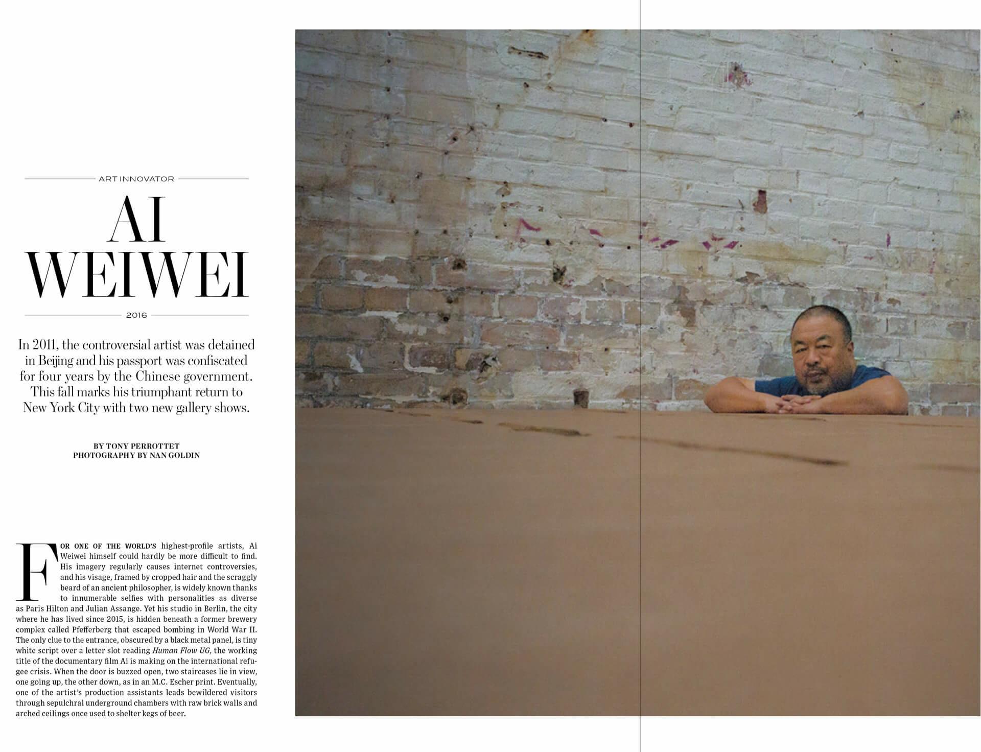 Ai Weiwei's Triumphant Return