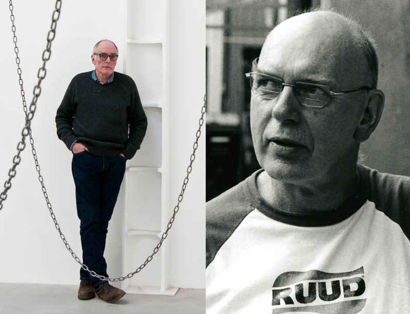Richard Deacon and Richard Wentworth discuss parallels in British and American sculpture