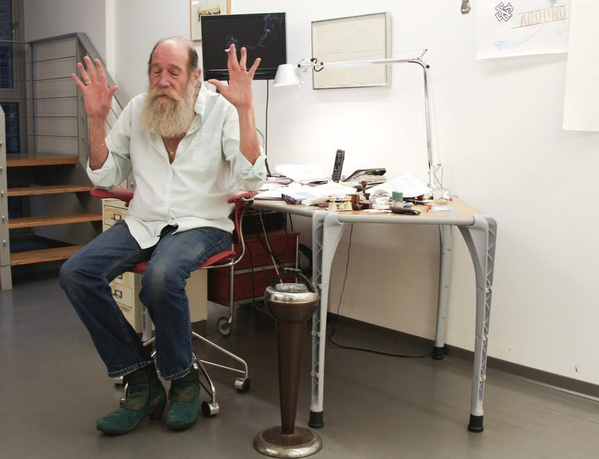Lawrence Weiner awarded the 2017 Wolf Prize