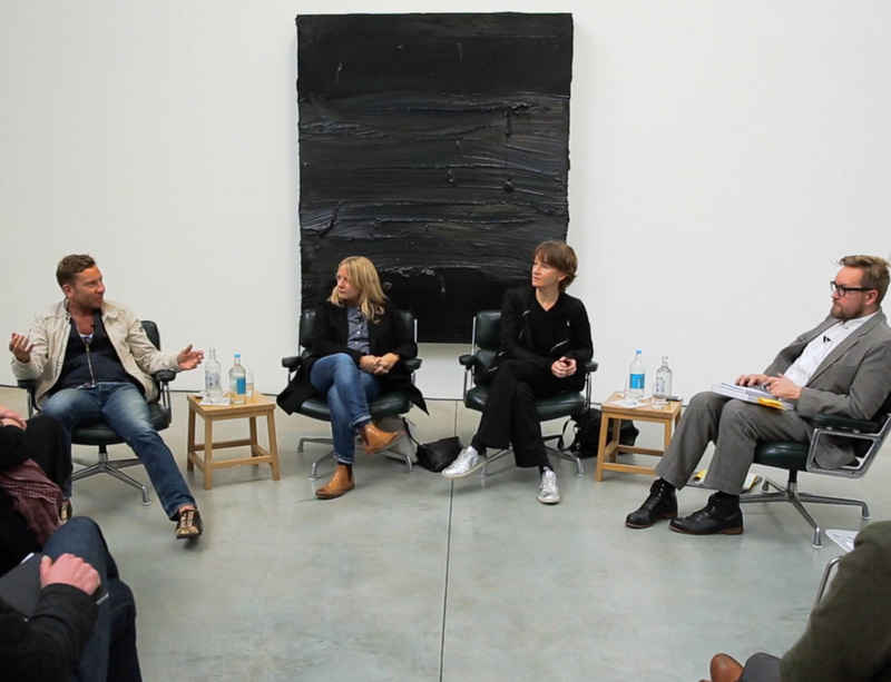 Jason Martin in conversation with Fiona Rae and Clare Woods